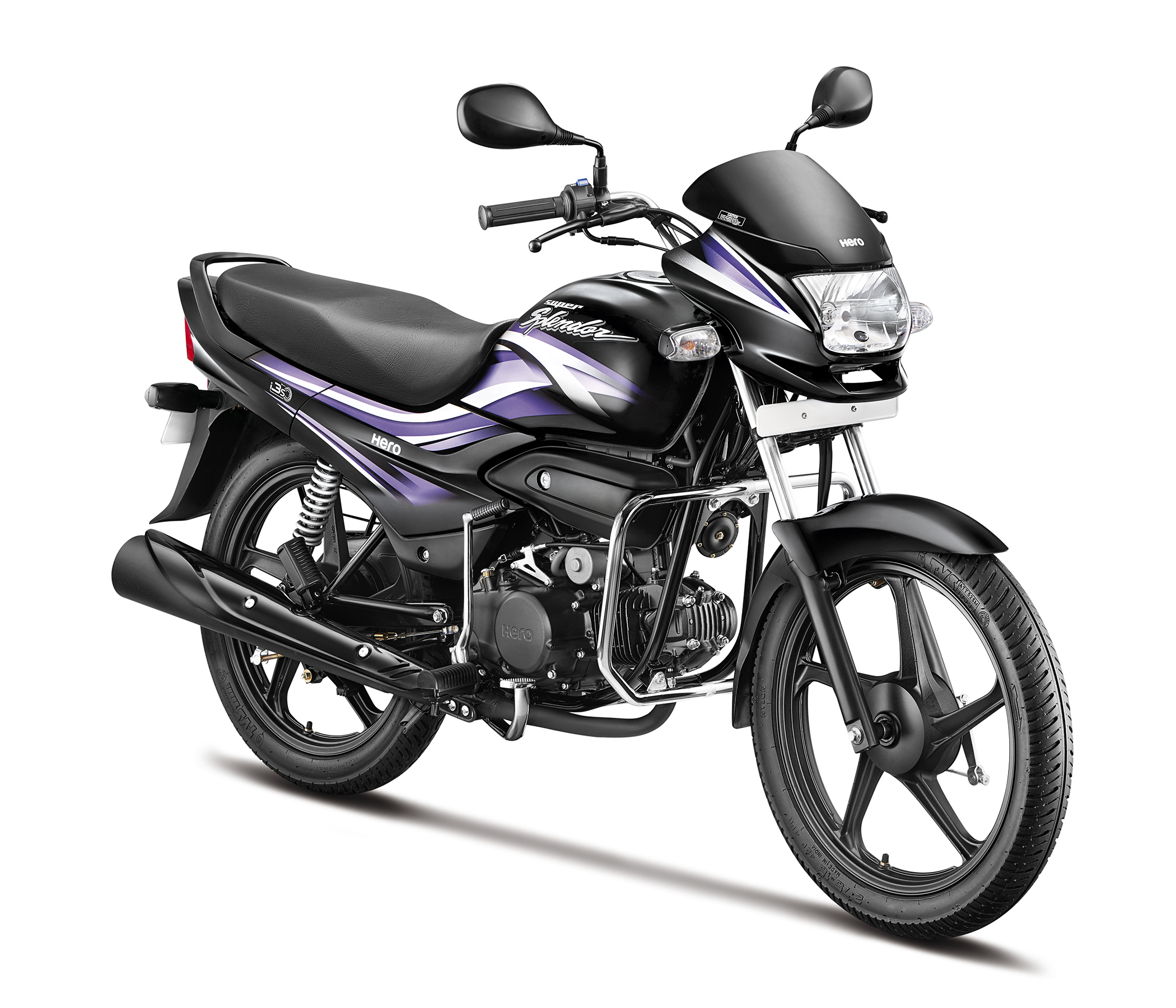Hero Motocorp Launches New Super Splendor For Inr 57 190
