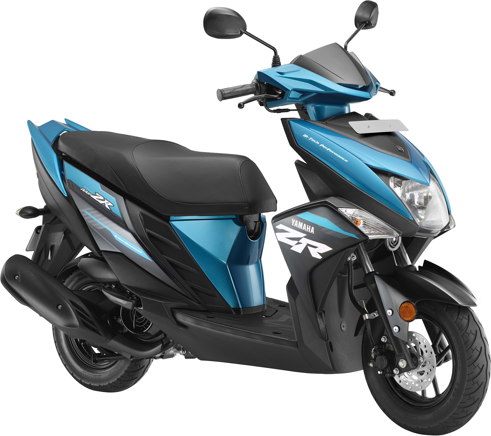 Electric Scooter With Seat >> Yamaha Cygnus Ray-ZR now available in new colours ...