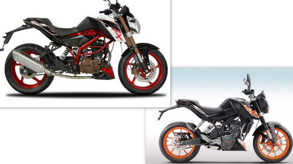 Um Xtreet 250x Is A Copy Of The Ktm Duke 200 Shifting Gears