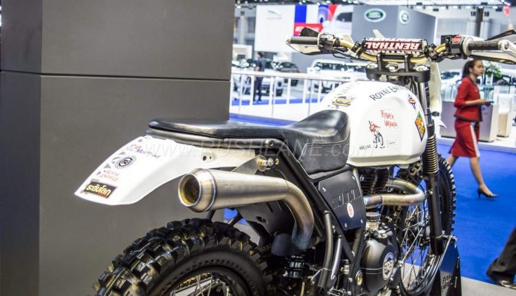 Royal Enfield Himalayan Scrambler Concept Showcased At