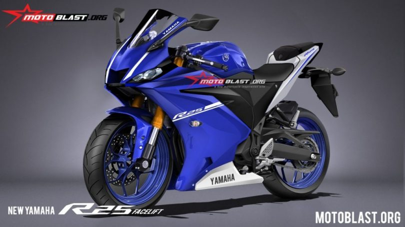 Yzf R3 2019 >> 2019 Yamaha YZF-R3 could look like this (Render based on spyshots) | Shifting-Gears