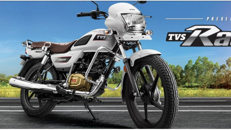 Tvs Radeon 110cc Commuter Motorcycle Launched In India For Inr