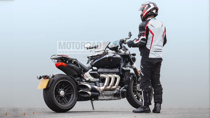 2019 Next Generation Triumph Rocket Iii Spotted Testing