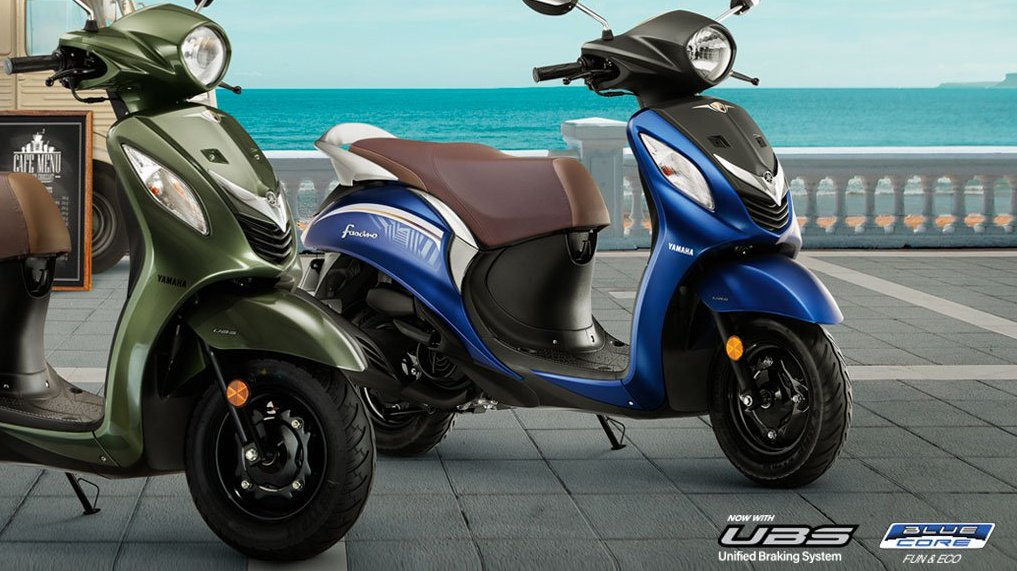 All Yamaha scooters get UBS (Unified Braking System) | Shifting-Gears