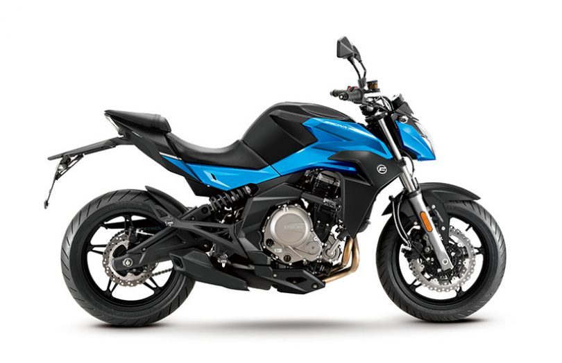 CFMoto 300 NK, 650 NK, 650 MT, 650 GT motorcycles launched