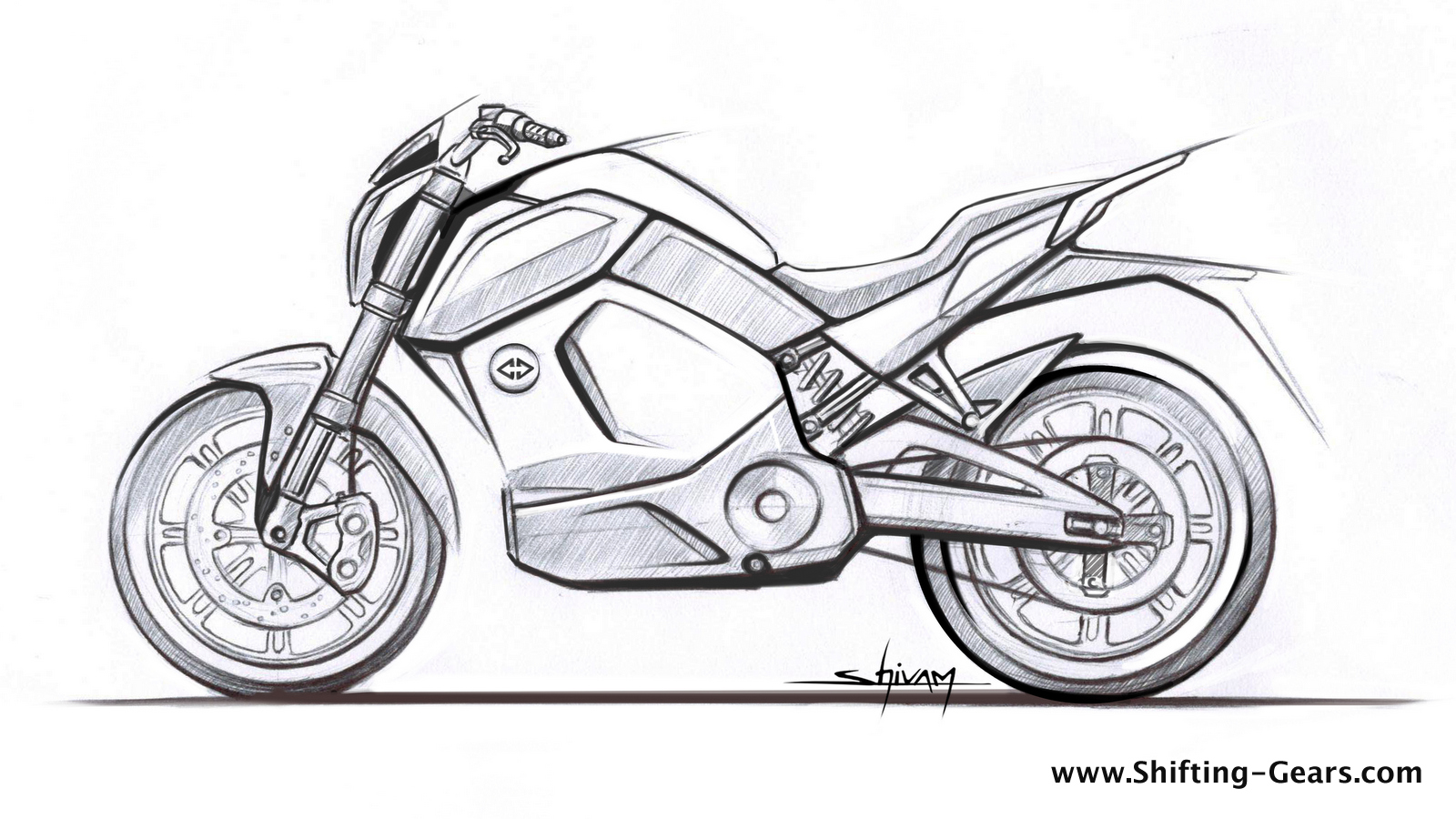revolt intellicorp reveals design sketch of electric smart motorcycle  launch in june 2019