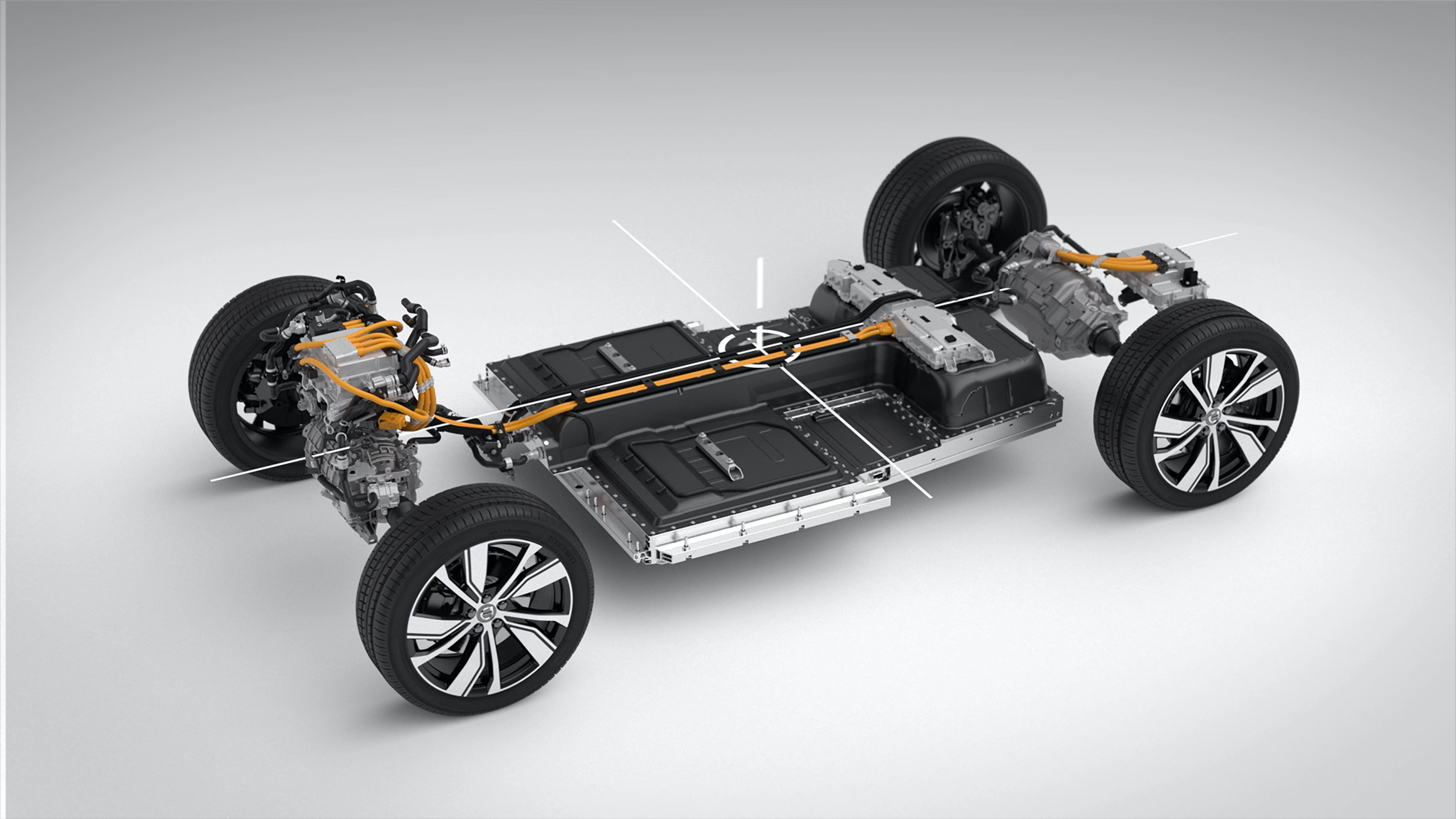 full electric volvo xc40 recharge suv revealed