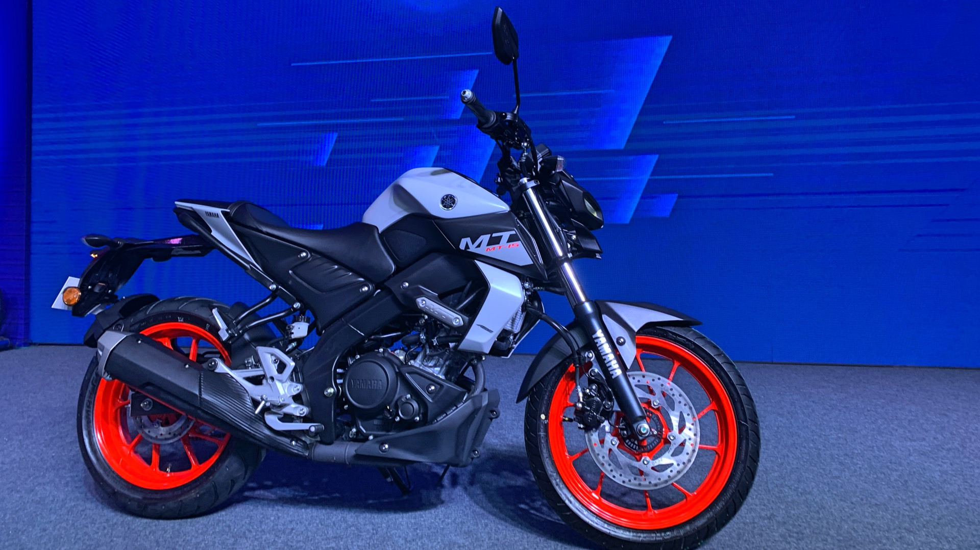 Image result for YAMAHA MT-15 BS6