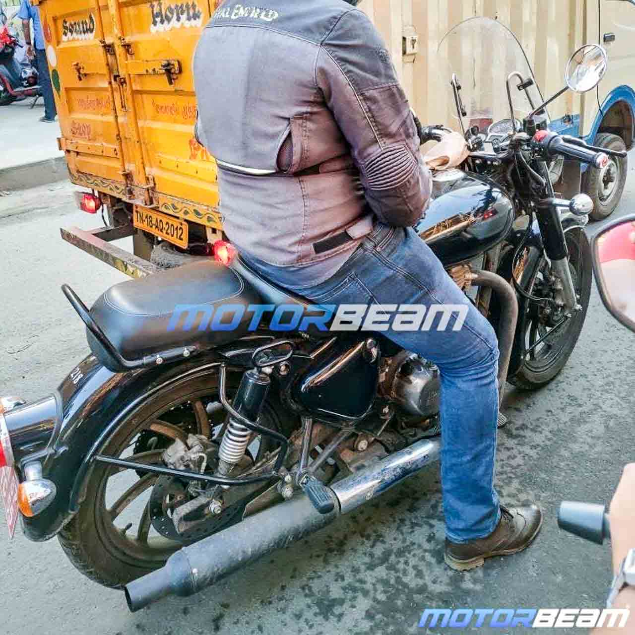2020 New Generation Royal Enfield Classic 350 Testing With New Accessories Shifting Gears