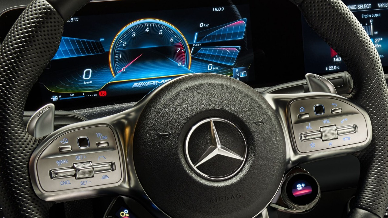 Mercedes-Benz reveals A-Class Limousine in AMG avatar at ...
