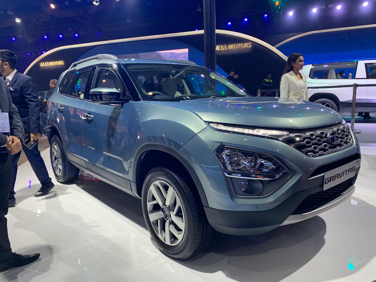 Tata Gravitas 7 Seater Ready For India And Showcased At Auto Expo 2020 Shifting Gears