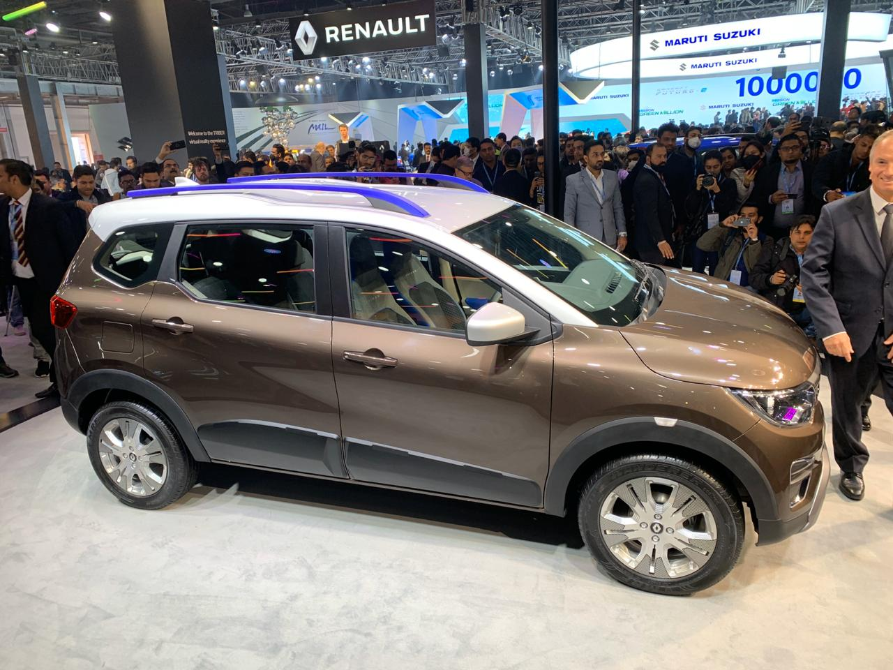 Renault Reveals Triber Easy R Amt At Auto Expo 2020 Shifting Gears