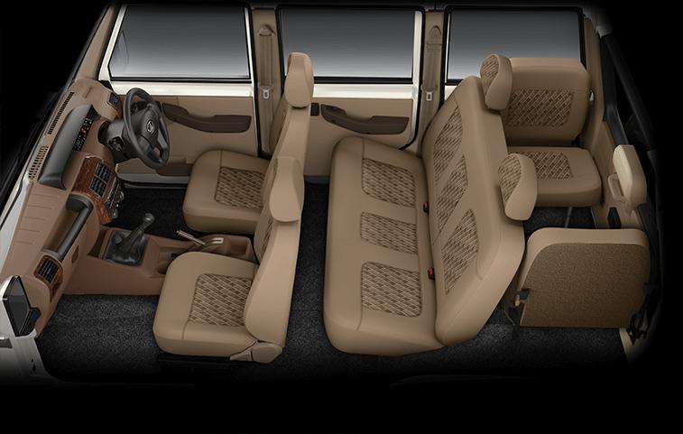 Mahindra Bolero - Car Seat View