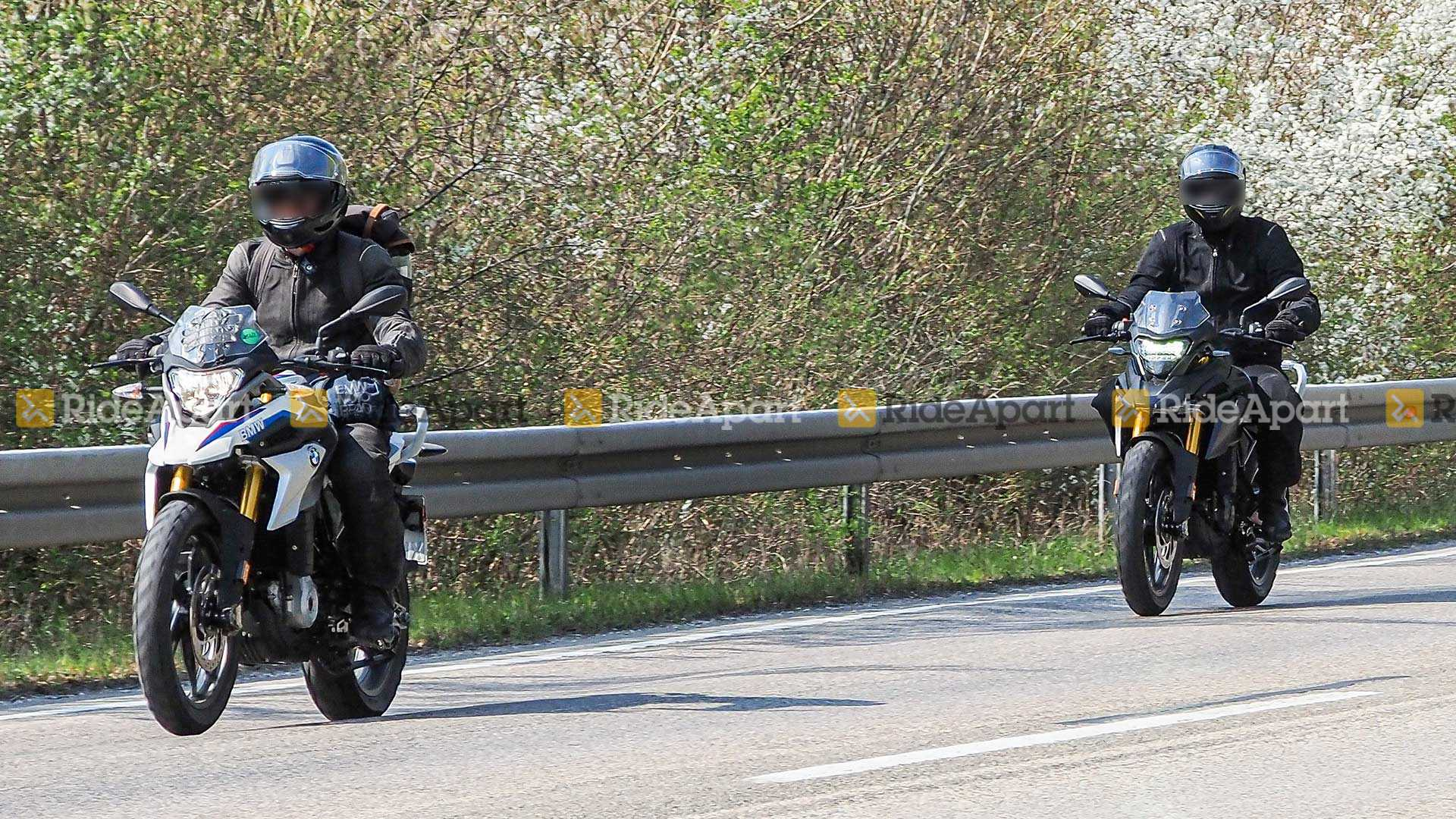 2020 Bmw G310r G310gs Spotted Testing New Upgrades Shifting Gears