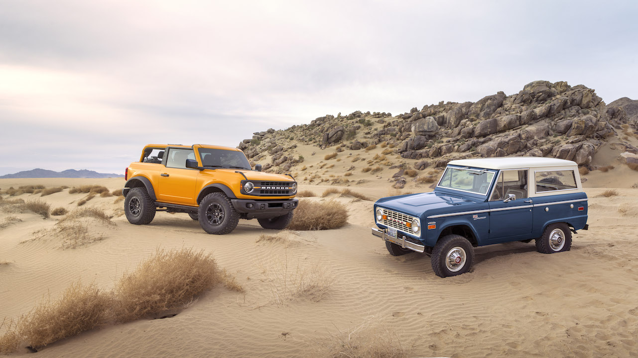 2021 Ford Bronco Suv Launched In 2 Door 4 Door Variants Not For India Shifting Gears