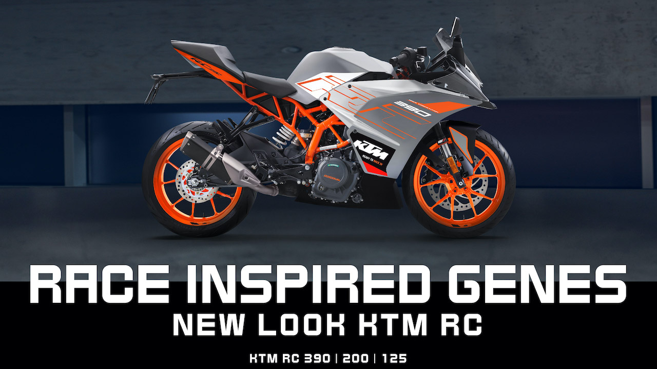 2020 Ktm Rc390 Rc200 Rc125 Launched With New Body Colours Shifting Gears