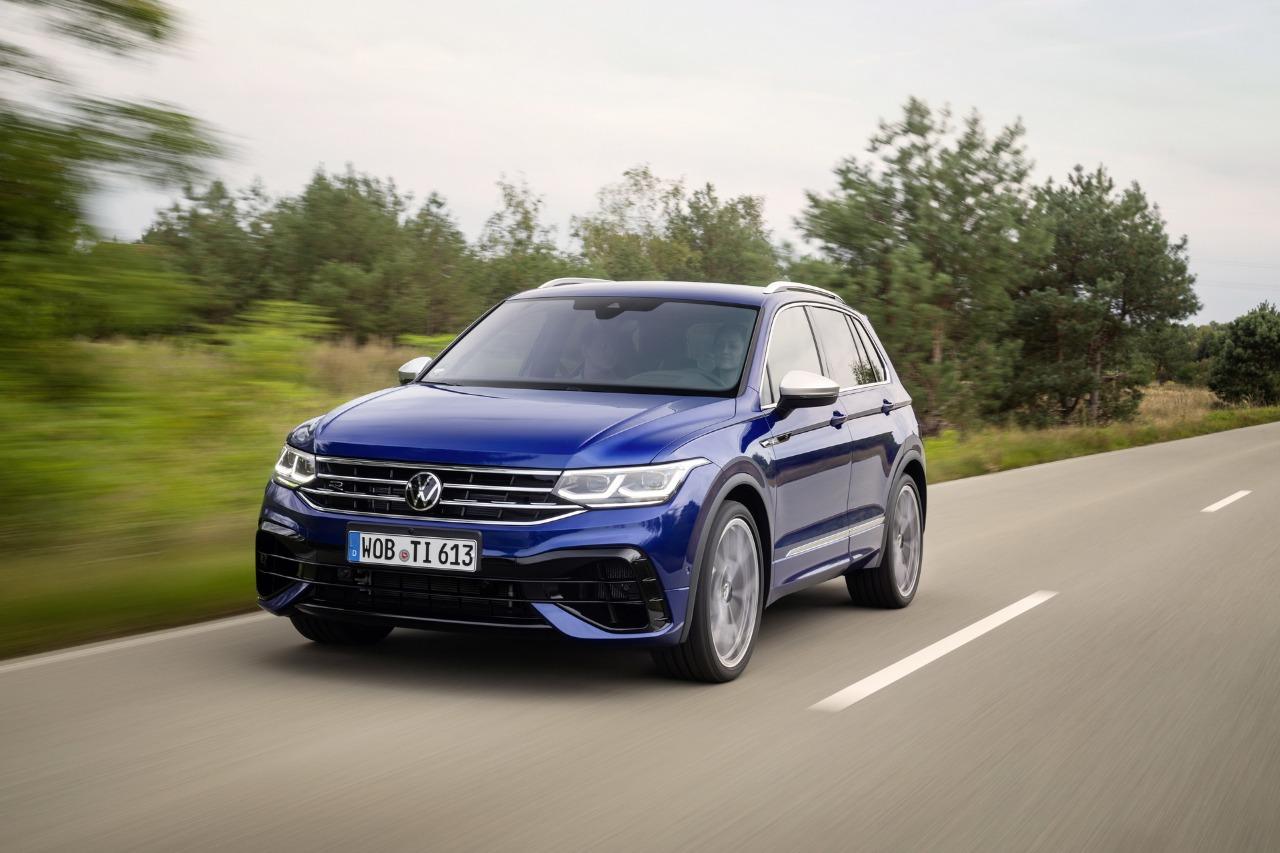 2021 Volkswagen Tiguan R revealed, most powerful Tiguan ...