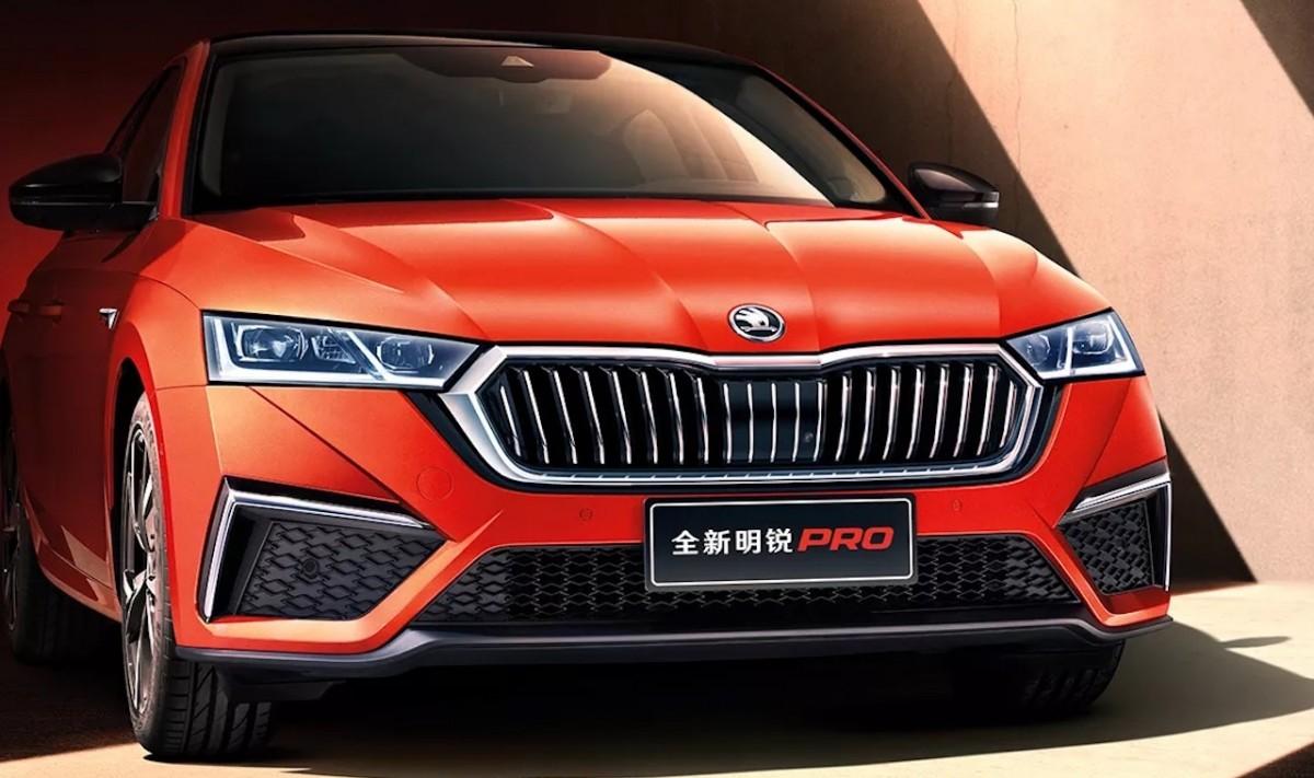 Skoda reveals 2021 Octavia Pro long wheelbase sedan ...