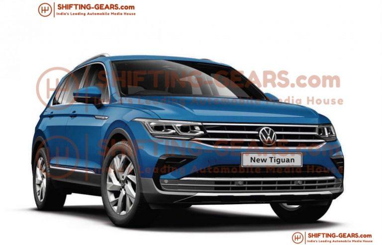 2021 Volkswagen Tiguan facelift for India revealed ...