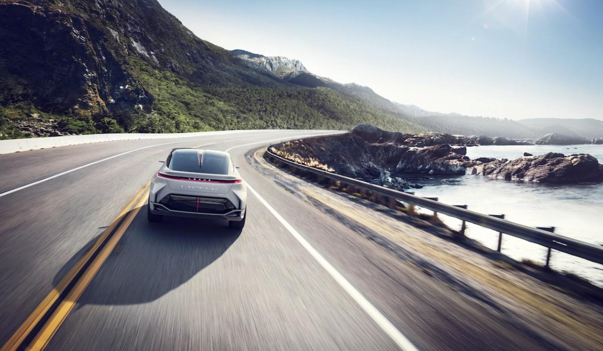 Lexus all-electric BEV - 2