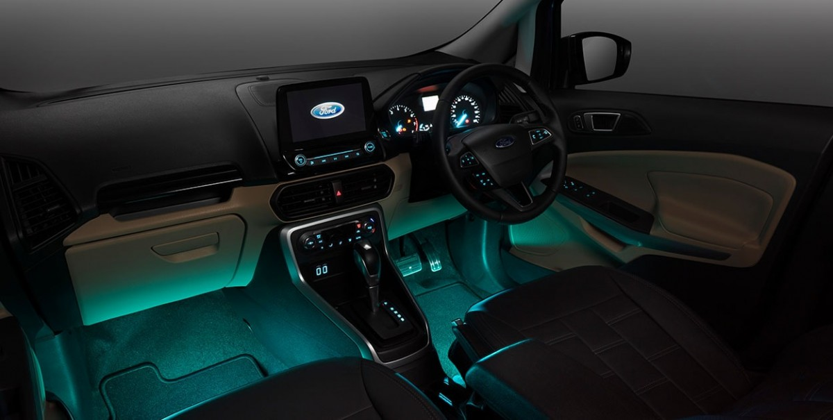 Ford EcoSport modified Interior