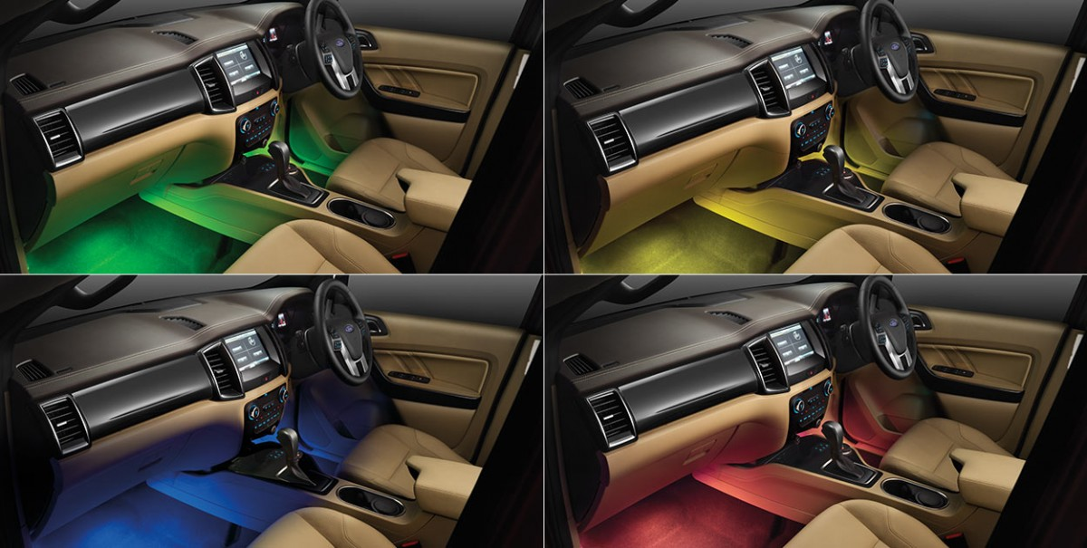 Ford Endeavour Modified - Interior