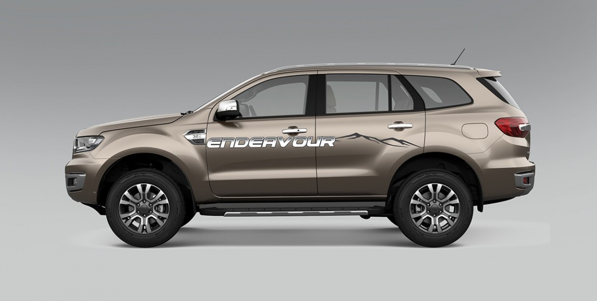 Ford Endeavour Modified 1