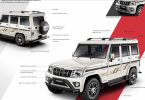 Mahindra Bolero Modified with Official Accessories