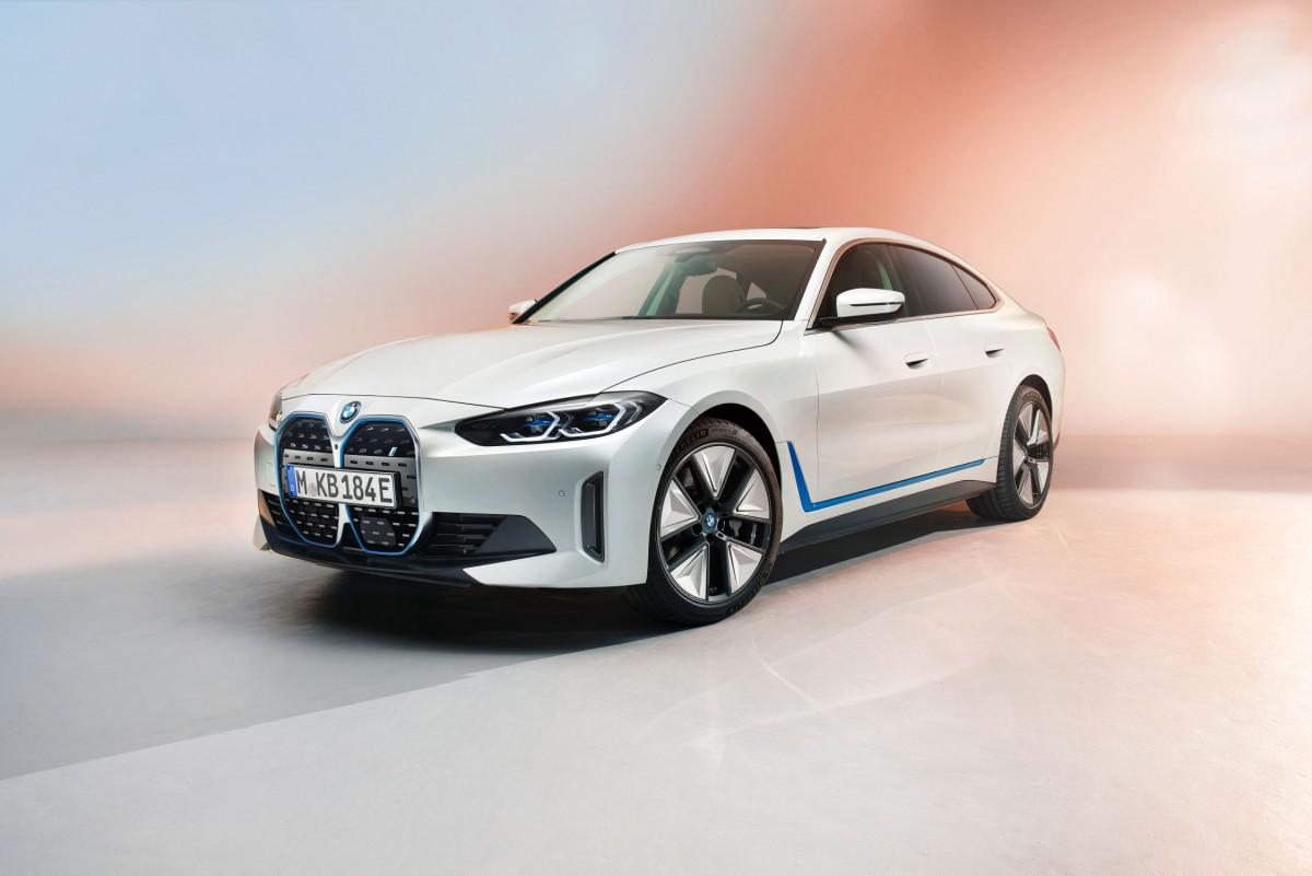 BMW i4 electric 1
