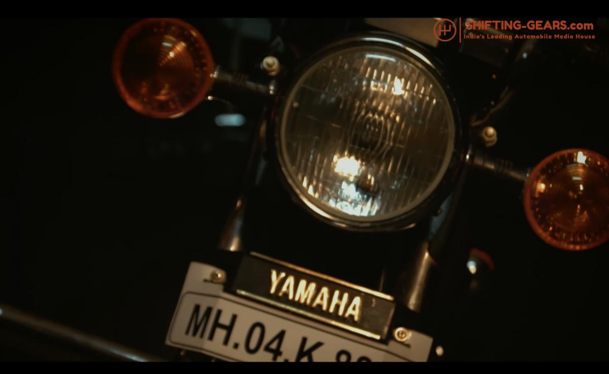 Yamaha RX 100 - 4