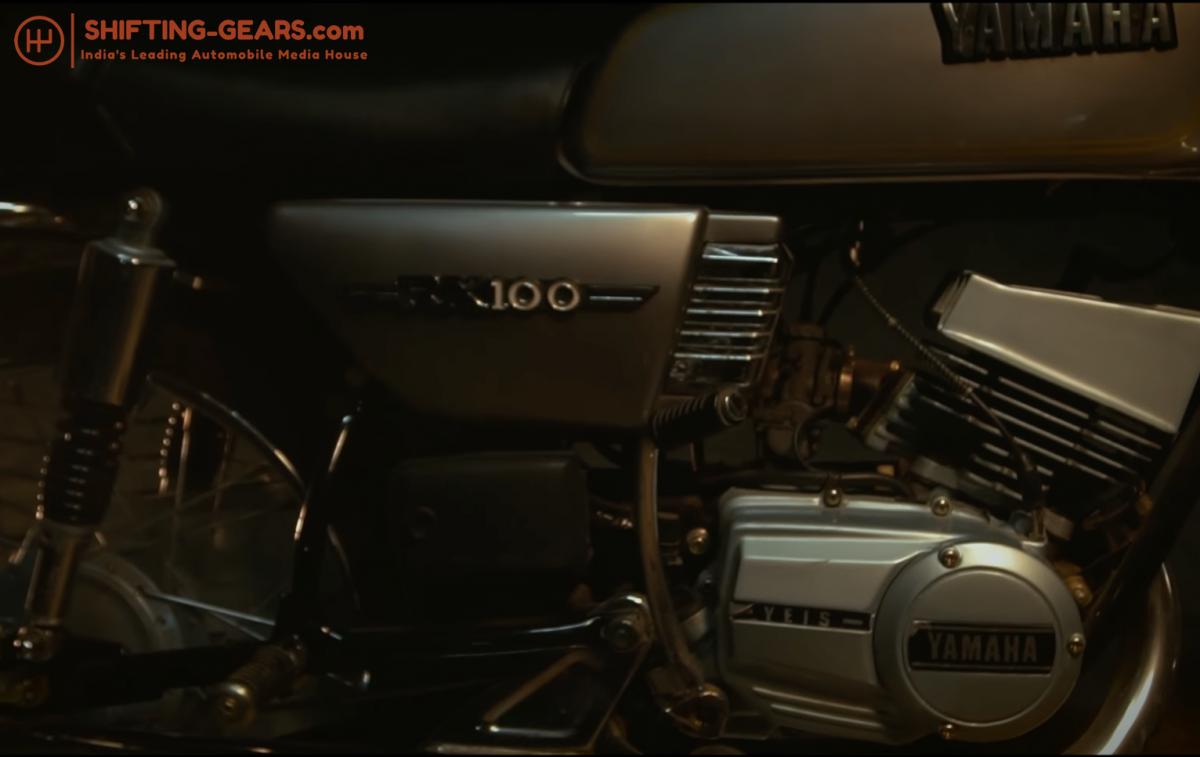 Yamaha RX 100 - 5