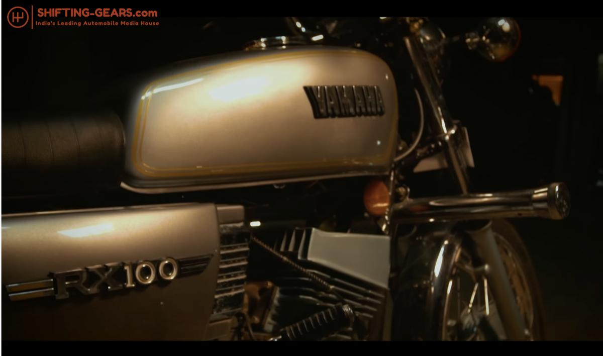 Yamaha RX 100 - 1