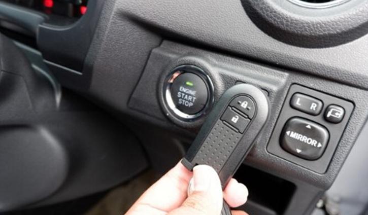 Toyota Agya hatchback -  Key