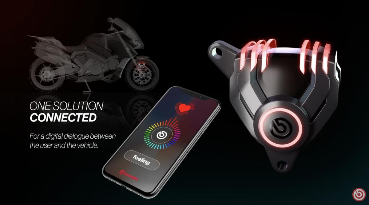 Brembo brake calipers to get LED lights   Shifing Gears   G Sessanta