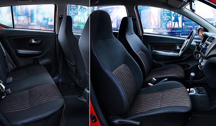 Toyota Agya hatchback - Interior