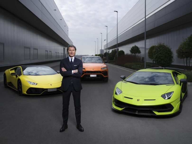 Lamborghini electric