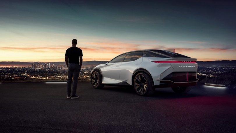 Lexus all-electric BEV