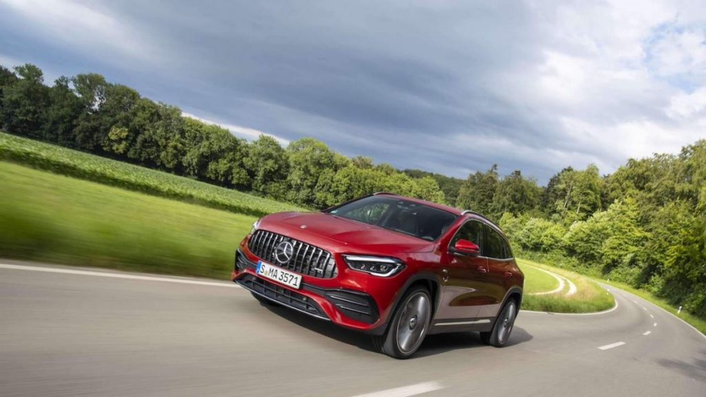 2021 Mercedes-Benz GLA - Front View