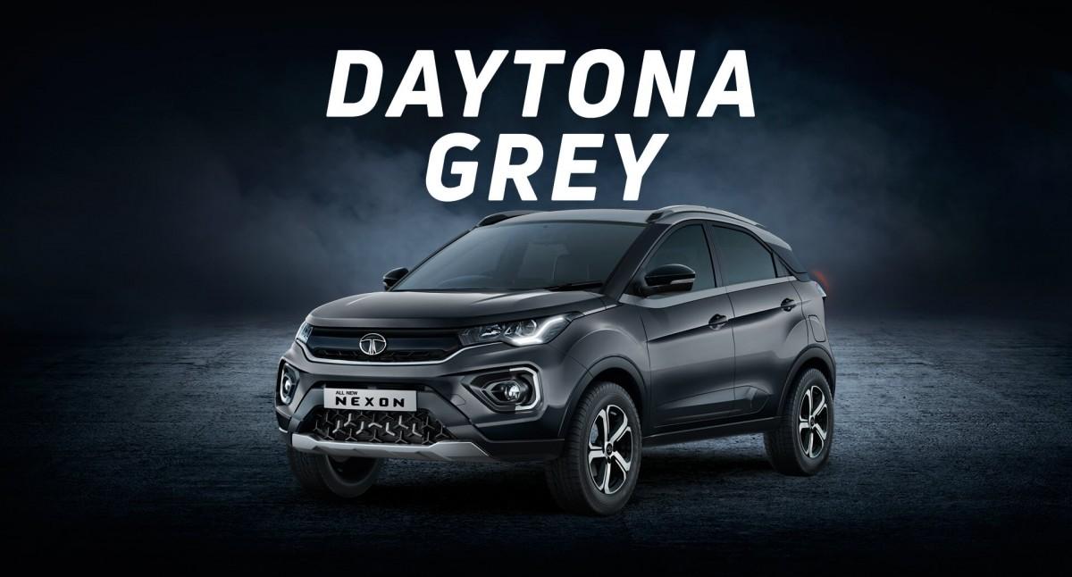Tata Nexon Grey