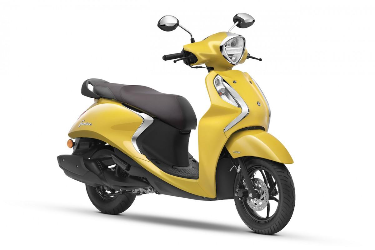 Yamaha Fascino 125 Fi Hybrid - Yellow
