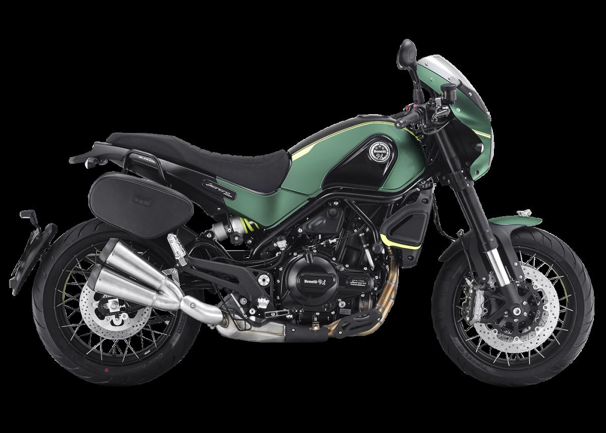 Benelli Leoncino 500 - Green