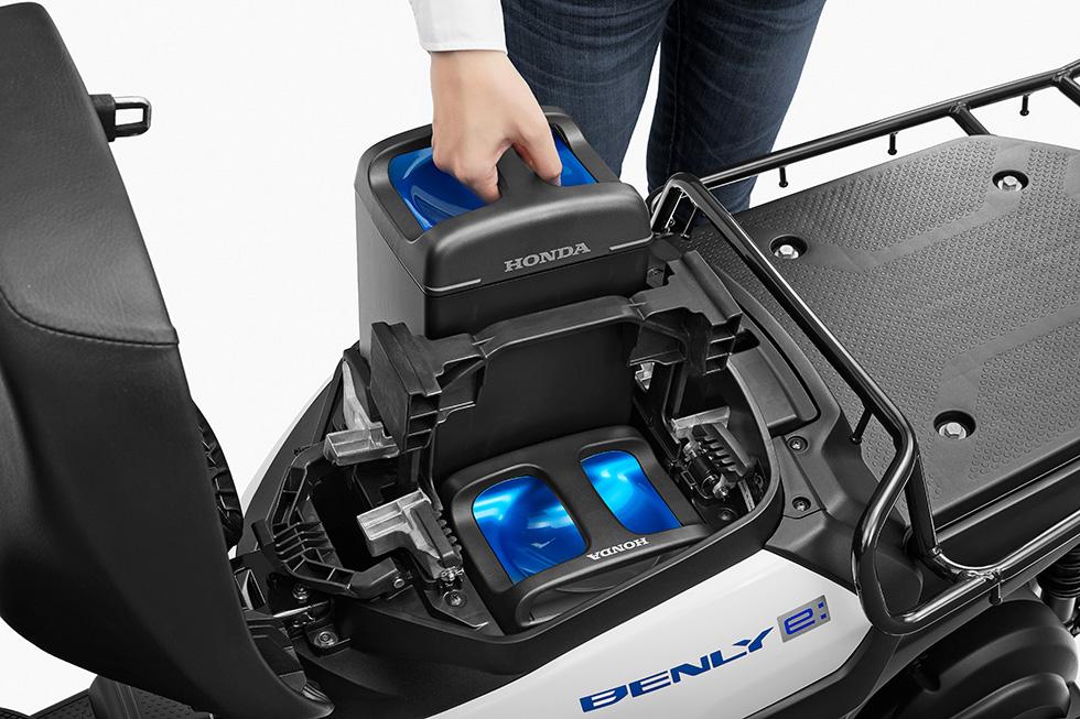 Honda Benly E - Battery Pack