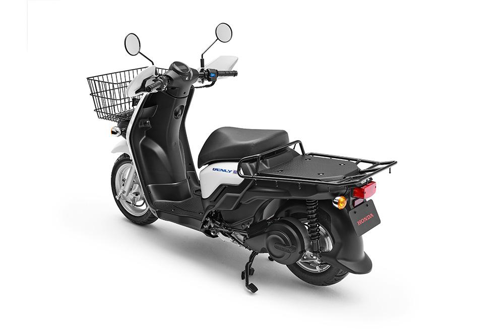 Honda Benly E - Back