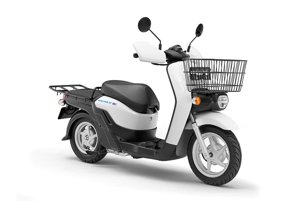 Honda Benly E - Front