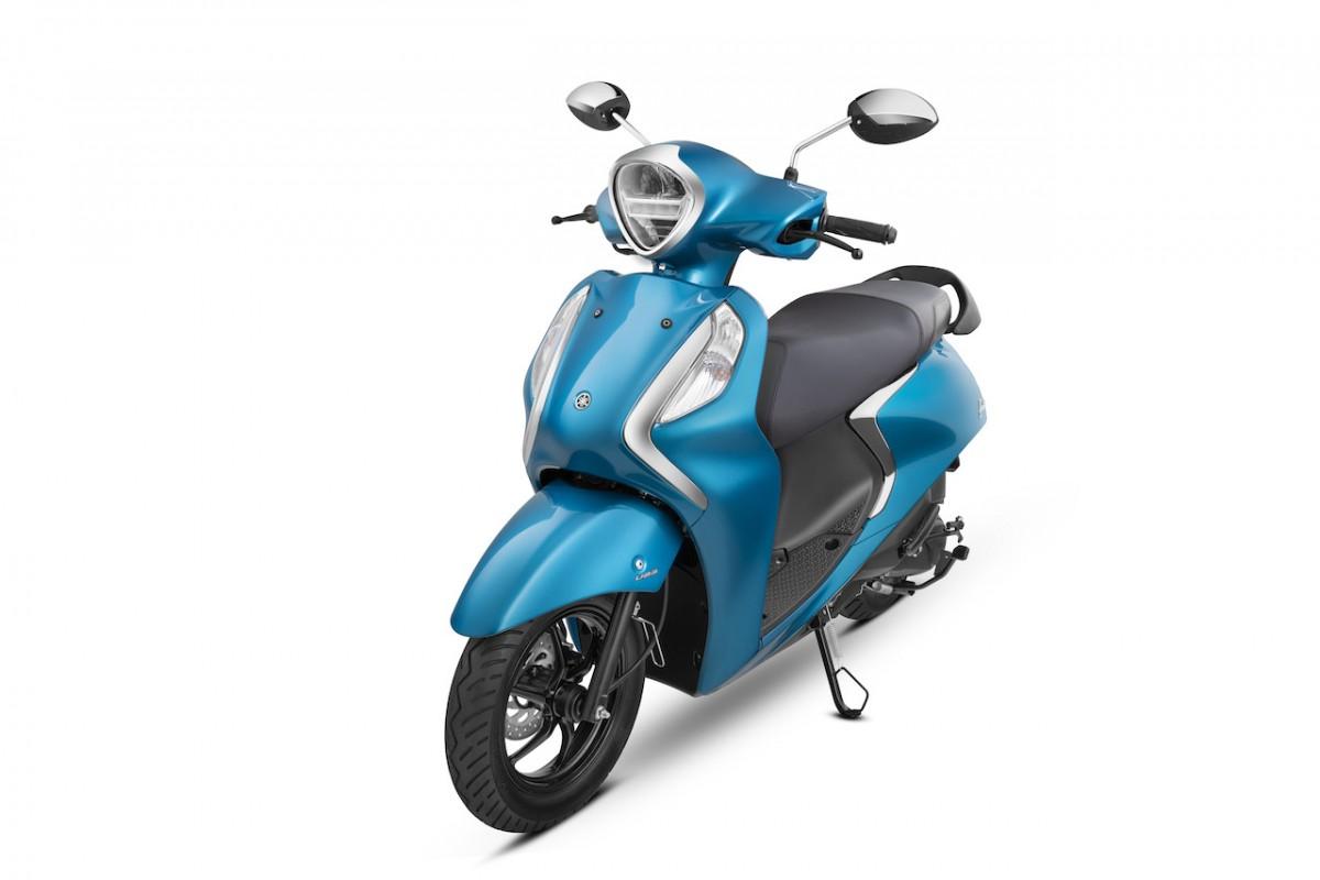 Yamaha Fascino 125 Fi Hybrid - Blue